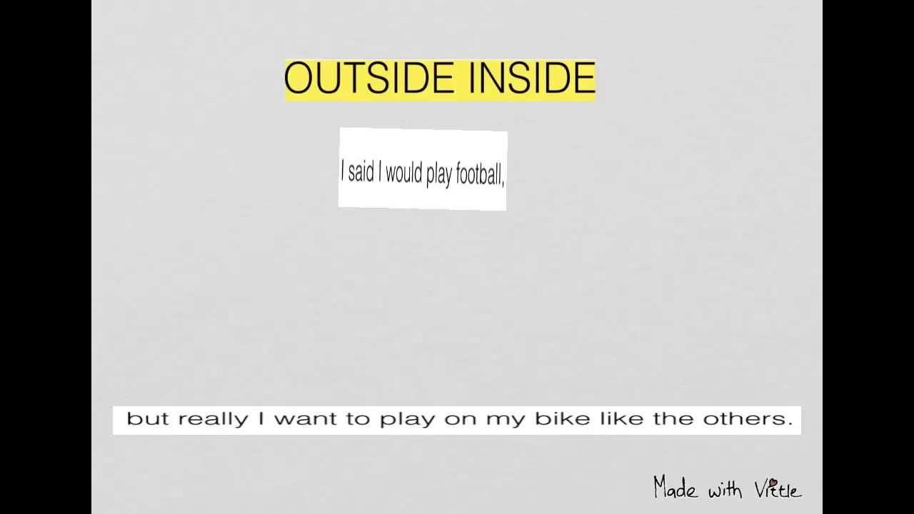 u0026quot;Drop-Inu0026quot; and u0026quot;Outside Insideu0026quot; Sentences - YouTube
