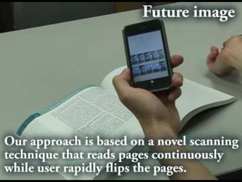 Tokyo University's Book Scanning system