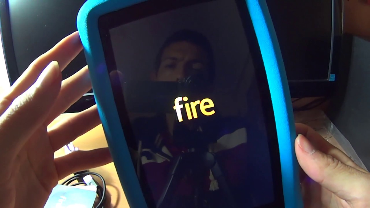 newest 9022f 18e5f Unboxing amazon fire 7 + kid proof case