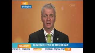 OneNews Breakfast - Japan, the TPP, World Farmers Organisation & Drought