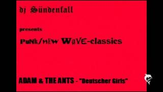 djSÜNDENFALL-327-Adam & The Ants-Deutscher Girls 1978