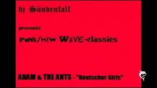 djSÜNDENFALL-327-Adam & The Ants-Deutscher Girls 1978