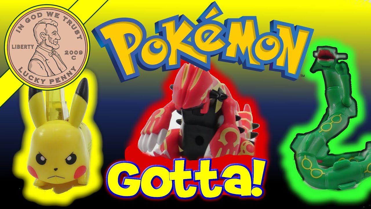 Pokemon Omega Amp Alpha Mcdonald S 2015 Happy Meal Toys
