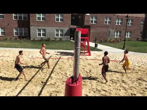 Doubles Sand Volleyball - Perfect Weather