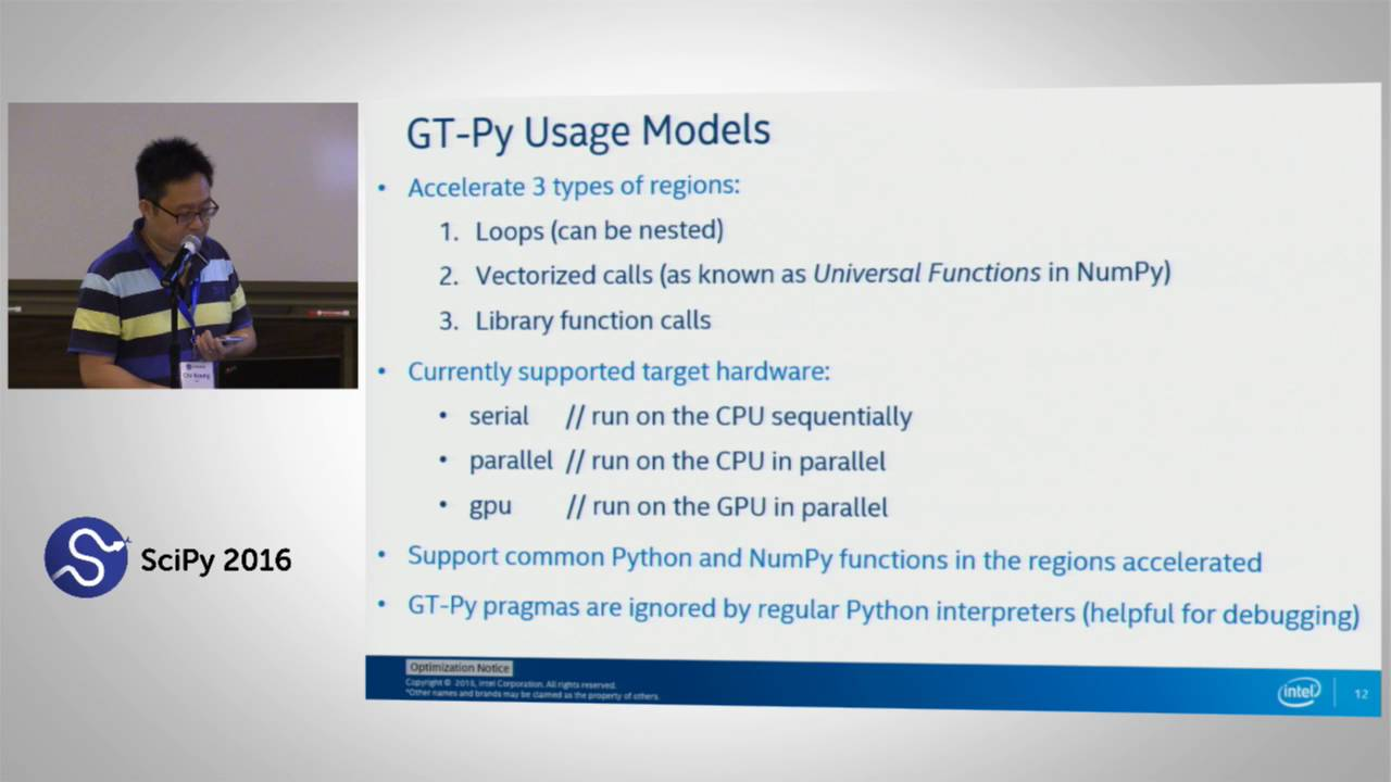 Image from GT Py : Accelerating NumPy programs on CPU&GPU w/ Minimal Programming Effort