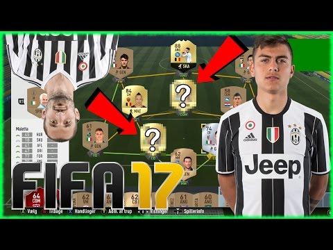 (DANSK) FIFA 17 !!! DRIES MERTENS ADVENTURE EP.2 !! DYBALA , CHIELLINI !?!?!?!?
