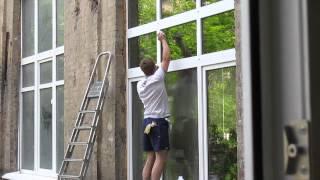 Мойка окон в Подмосковье(В конце июля 2015 года наша компания производила мойку окон в Подмосковье в здании завода., 2015-08-10T17:25:24.000Z)