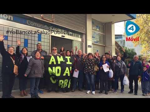 """#YoBancoLaSaludPublica : abuelos afiliados de PAMI reclaman """"no al cierre"""" de AMI Florencio Varela"""