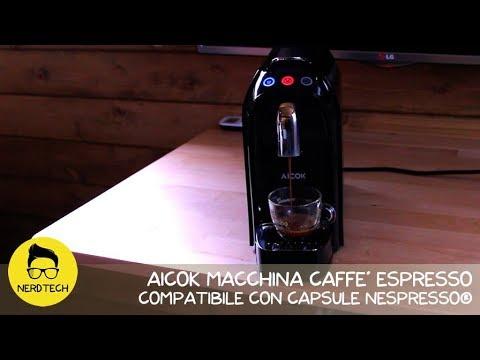 AICOK Macchina Caffè Espresso a Capsule NESPRESSO®
