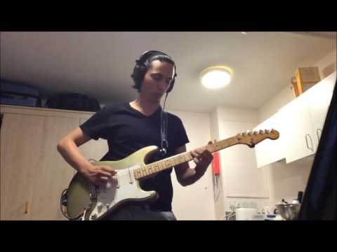 David Gilmour - On An Island Solo 2 Cover + Jam