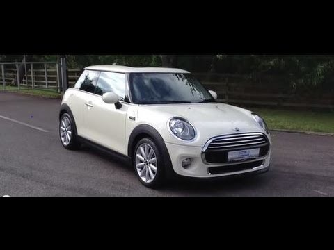 2014 64 Mini Cooper 1 5 3 Dr Pepper White Massive Spec