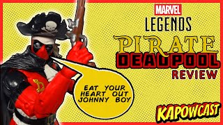 MARVEL LEGENDS PIRATE DEADPOOL REVIEW | STRONG GUY BAF