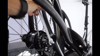 Installing the 11R rear wheel