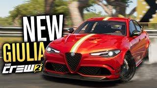 NEW Alfa Romeo Giulia CUSTOMIZATION!! | The Crew 2