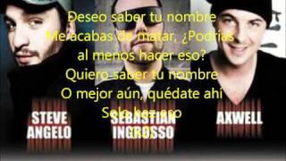 Letra Español I Wanna Know Your Name Swedish House Mafia