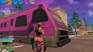 Tilted Towers 7 kill Solo Game- Fortnite mobile- iPad Air 2