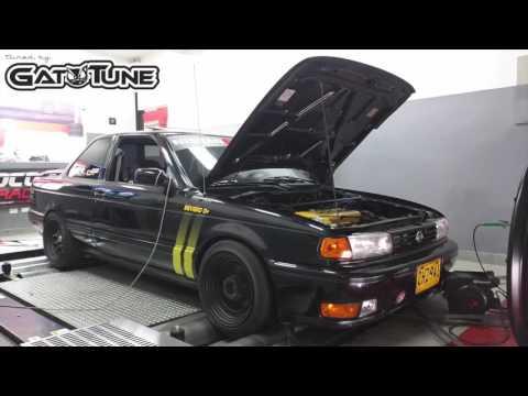 Nissan Sentra B13 SE-R SR20 Dyno