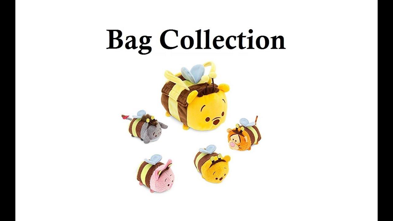 Unique PREVIEW: Disney Tsum Tsum Winnie the Pooh Honey Bee Bag Collection  QE06