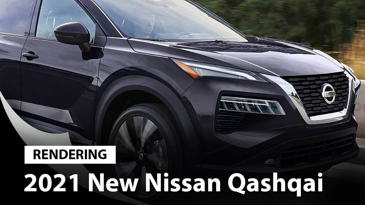 2021 Nissan Qashqai Rendering Tries To Preview The Next Rogue Sport Youtube
