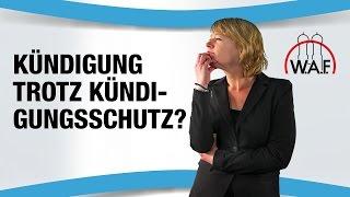 Arbeitsrecht Irrtümer 2 Der Kündigungsschutz Gilt Nach Der