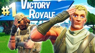 PRO CARRIES NOOB TO VICTORY ROYALE - Fortnite Short Film thumbnail