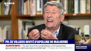 Philippe de Villiers était l'invité d'Apolline de Malherbe
