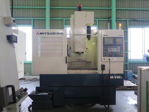 24326 立型マシニングセンター(BT40型) 三菱重工 M-V5C 2000年