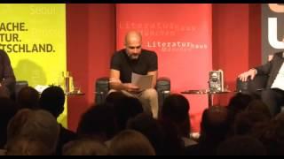 Pep Guardiola liest Miquel Martí i Pol: Punti final -  Literaturhaus München 30.6.2015