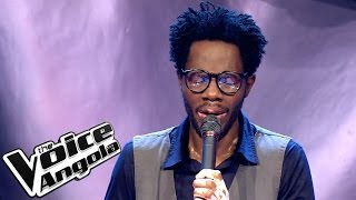 "Valdemar Ngombo - ""Thinking Out Loud"" / The Voice Angola 2015: Audição Cega"