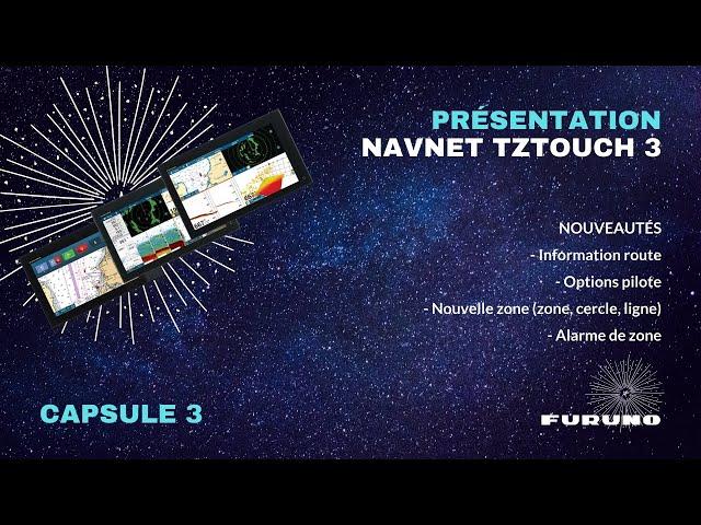 Écran Multifonction NavNet TZtouch 3 | Info routes, Gestion de Pilote, Zones, Alarmes