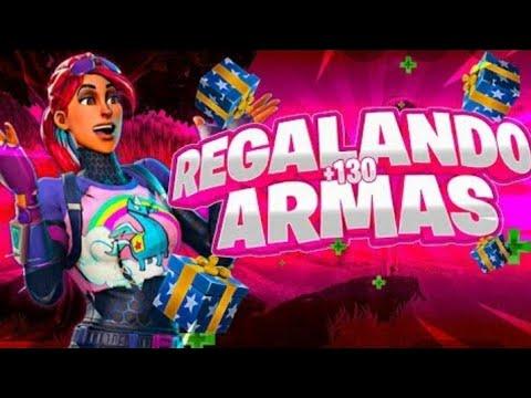 Regalando Armas 10 130 Por Persona Fortnite Salvar El Mundo