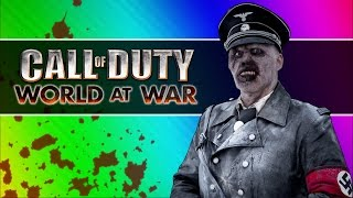 back to the future zombies call of duty waw zombies custom maps mods funny moments