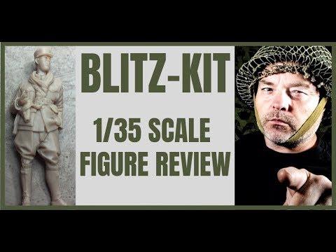 Blitz-Kit - 1/35th scale WW2 French Resin Model Figures - Kitmaker Network (2019)