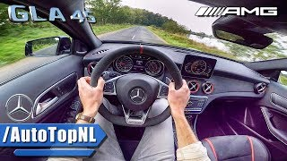 2018 Mercedes AMG GLA 45 381HP POV Test Drive by AutoTopNL