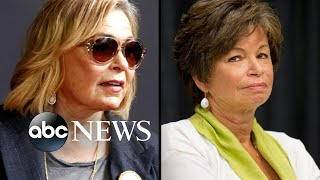 Roseanne Barr's emotional first interview since she was fired for racist remarks