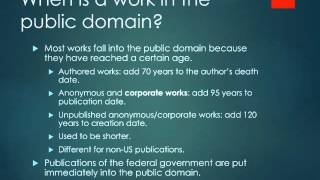 Public Domain section 2
