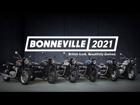 Bonneville 2021 | British Icons. Beautifully Evolved
