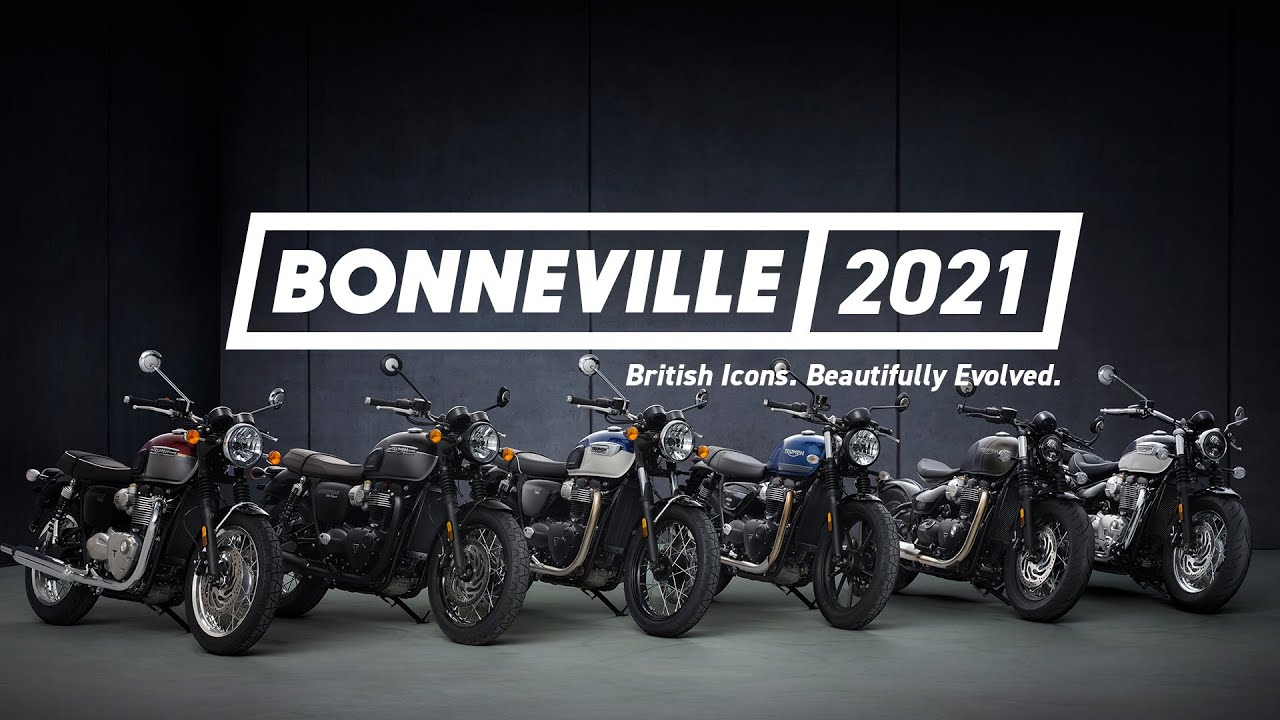 Triumph - Nova família Bonneville - VÍDEO