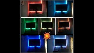How to install led lights in the TV