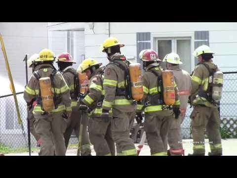 Incendie suspect majeur au 38 Rue Roch à L'Épiphanie7 Juin 2016