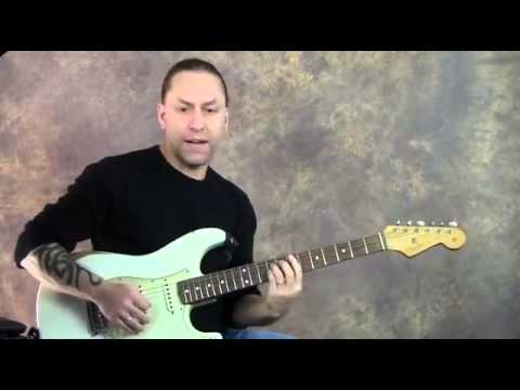 Steve Stine Guitar Lesson - Muddy Waters Style Blues Guitar Lick