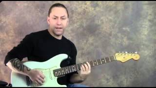 Steve Stine Guitar Lesson - Muddy Waters Style Blues Guitar Lick Video