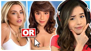 EGIRL SMASH OR PASS (Streamer Edition) - Pokimane