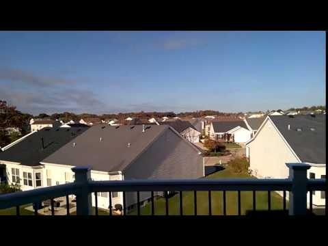 Tornado siren test in St Charles, MO