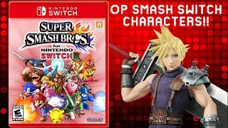 Super Smash Bros Switch Op Characters