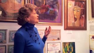 Отзыв с выставки Виктории ПреобРАженской. 2015 год