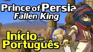 Prince of Persian: The Fallen King (Nintendo DS) - O Início em Português