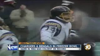 Bolts-Bengals faced off In Freezer Bowl: 1982 playoff game coldest in NFL history