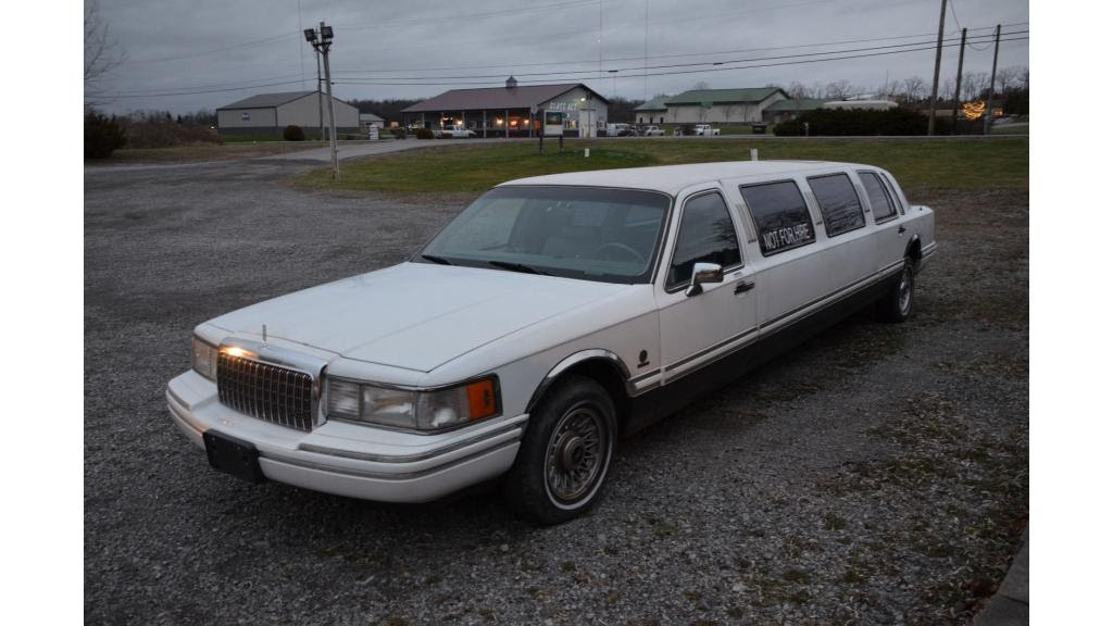 1993 Lincoln Town Car Stretch Limosine Youtube