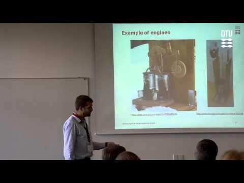 Mechanical Engineering Practice - using a simple Stirling en